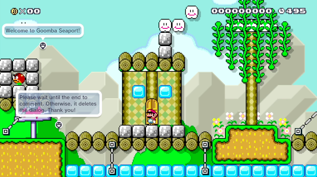 Clever Mario Maker Levels Contain Dialogue And JRPG Menus