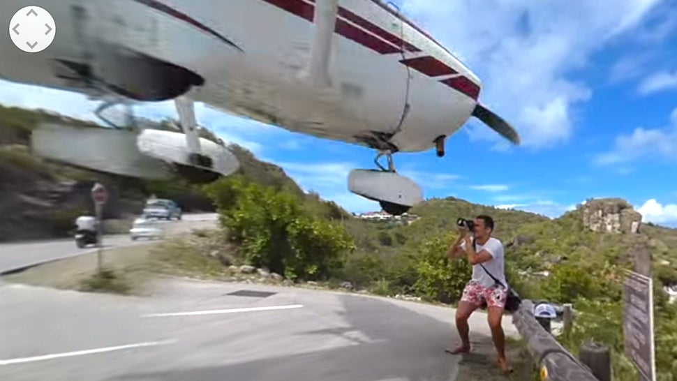 Watch This Photographer Almost Get Hit By A Landing Plane