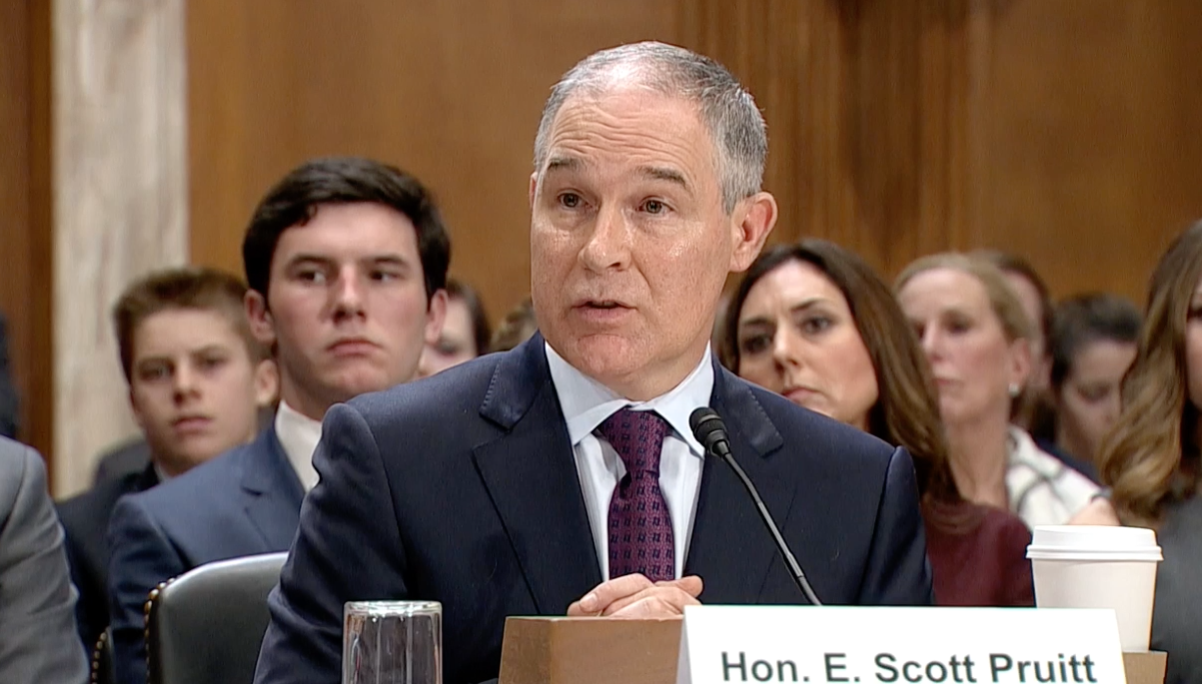 Pruitt Faces Environment Committee, Agriculture is Optimistic
