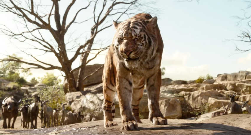 The Live-Action Jungle Book's Talking Animals Kind of Freak Me Out