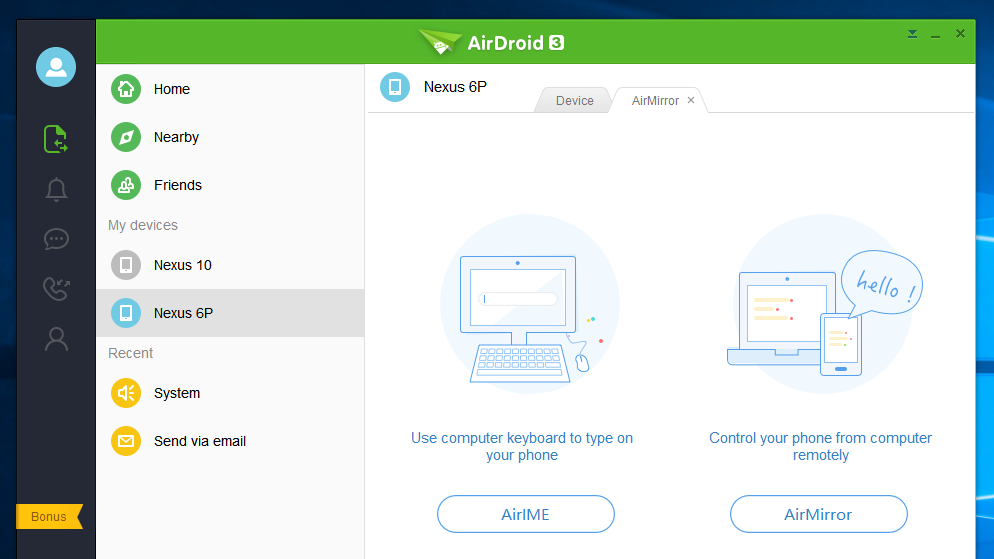 AirDroid Can Now Share Your Clipboard and Keyboard With Your PC