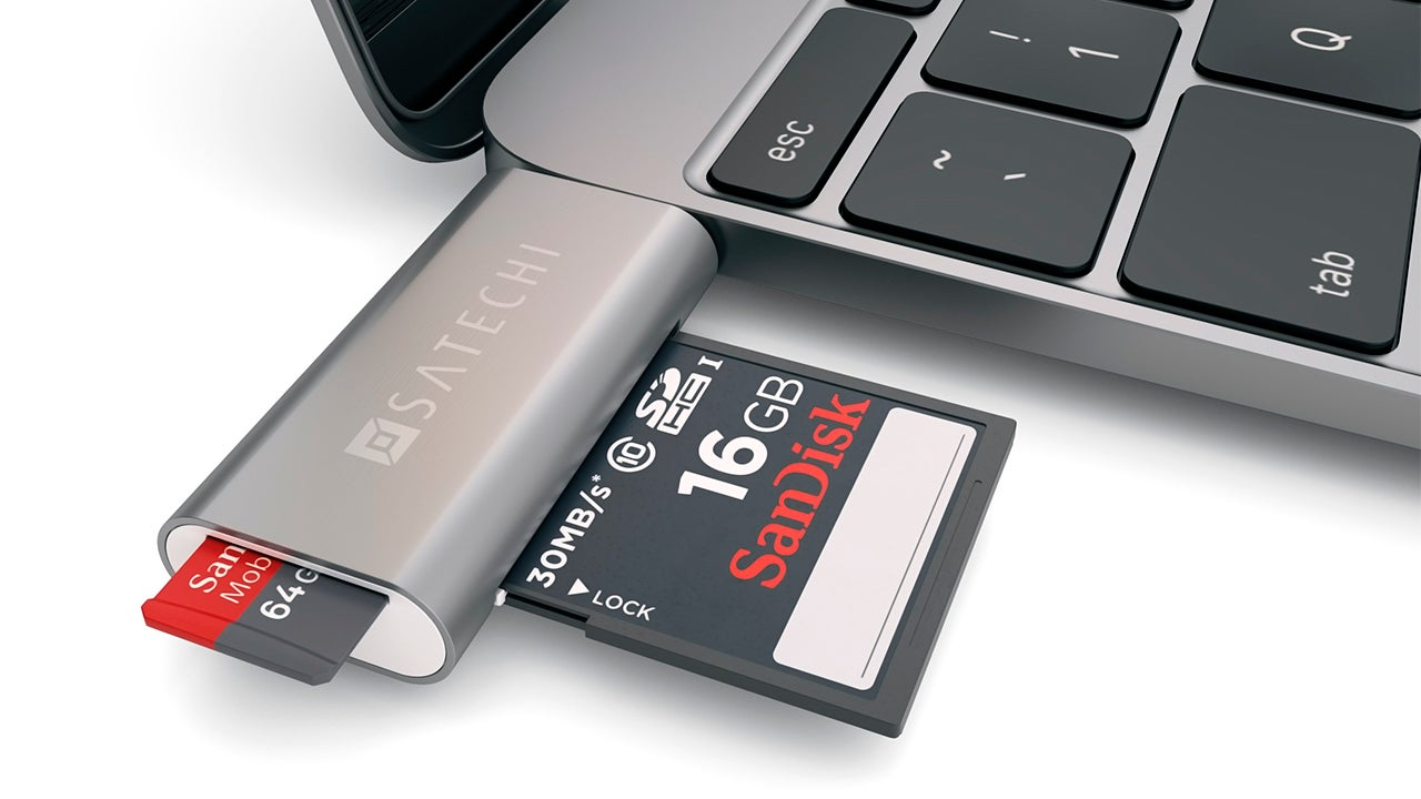 Here's the Tiny USB-C Card Reader Your 30cm MacBook Desperately Needs