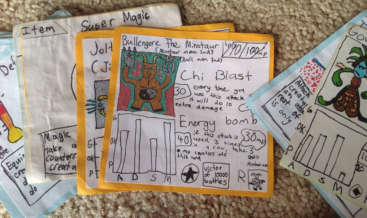 Brothers Couldn't Afford Pokemon Cards, So They Made Their Own Game