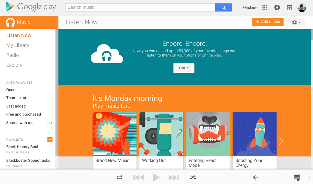 Google Play Music Is Now an Even Better Spotify Alternative