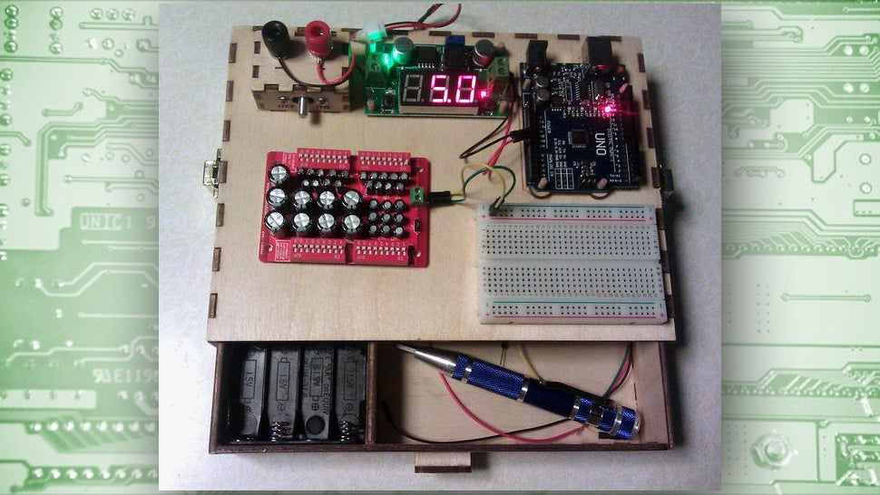 Build this space saving workstation for your diy for Homemade electronic gadgets