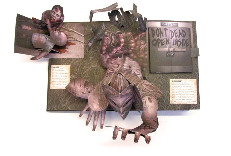 The Walking Dead Has the Most Wonderfully Gory Pop-Up Book You've Ever Seen