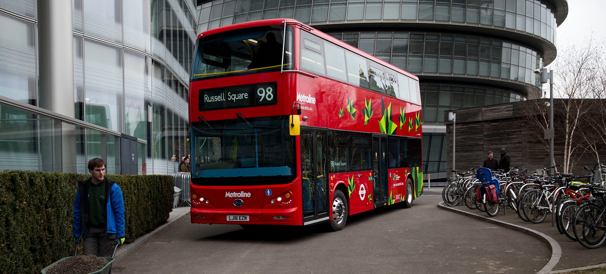 World's First All-Electric Double-Deck Buses Hit London's Streets