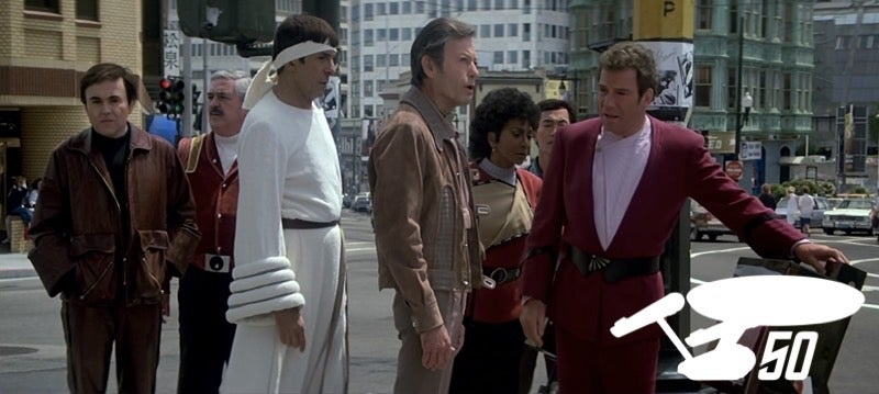 The Voyage HomeMay Not Be Star Trek's Best Film, But It Is The Funniest