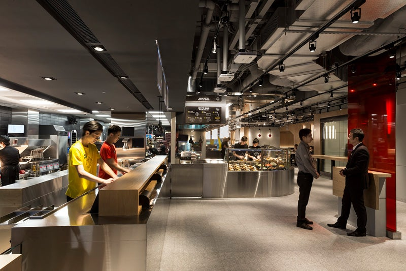 The McDonald's Of The Future Opens In Hong Kong