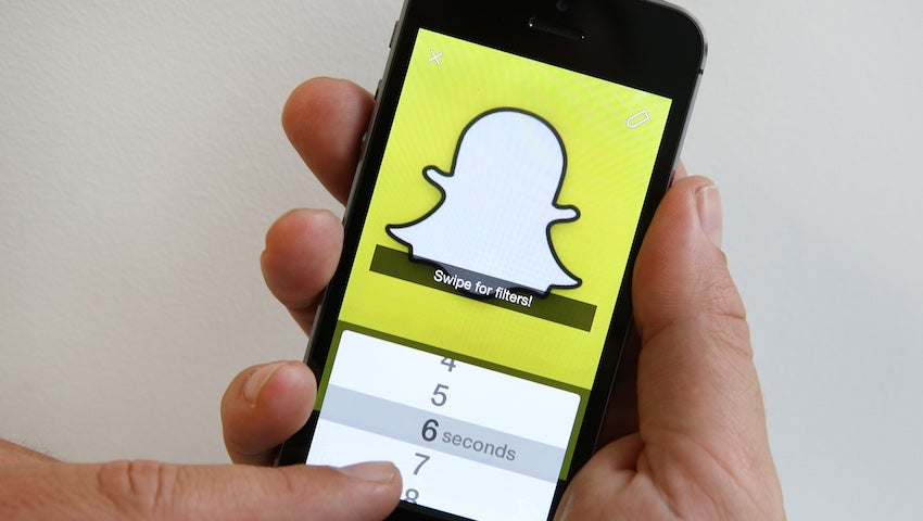 Snapchat Is Finally a Good App for, Uh, Chatting
