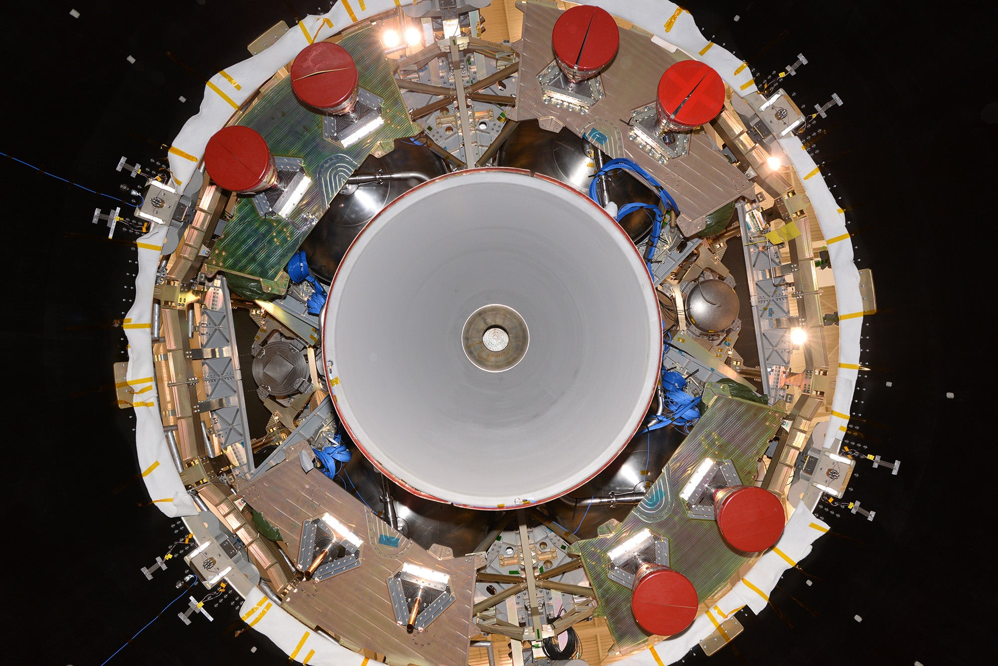 The Underside of a Spacecraft Is Fascinating