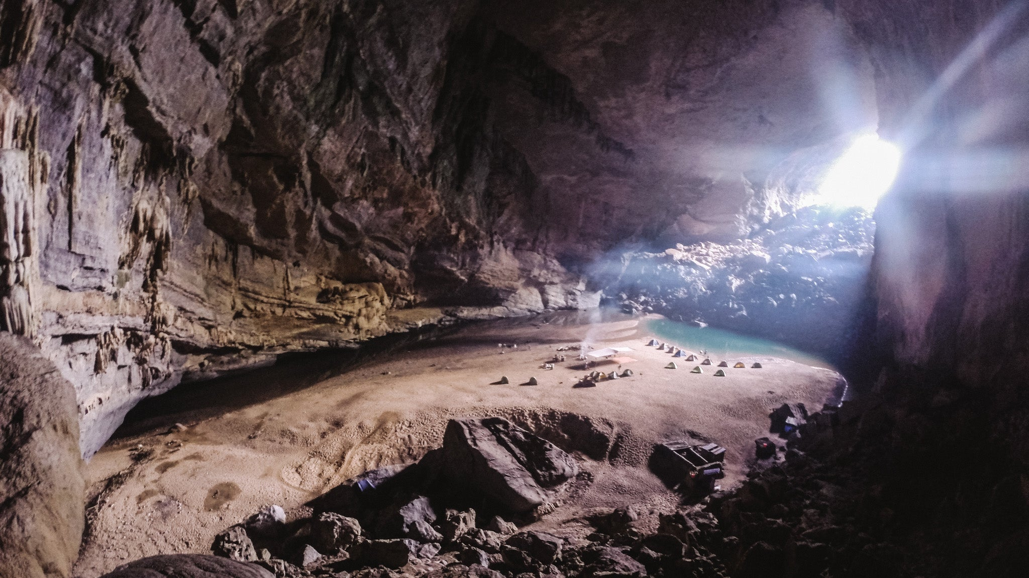 Inside The World's Third Largest Cave