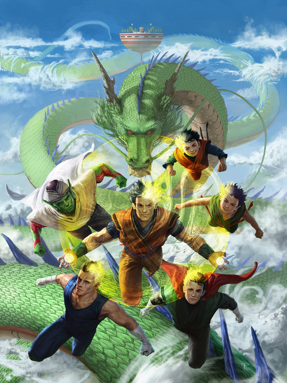 dbz real life characters - photo #3