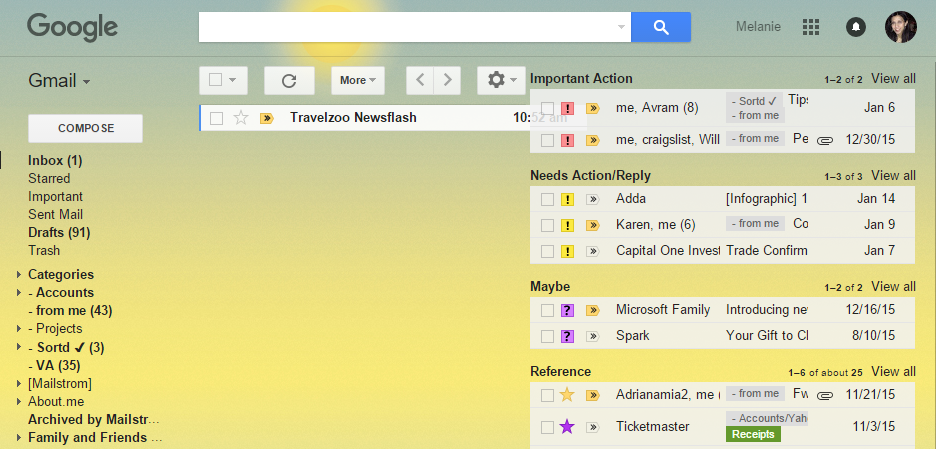 How I Finally Organised My Messy Inbox with Sortd
