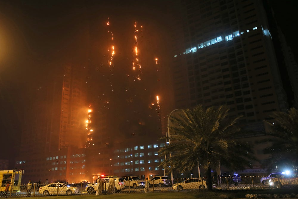 Another Day, Another Burning Skyscraper in Dubai