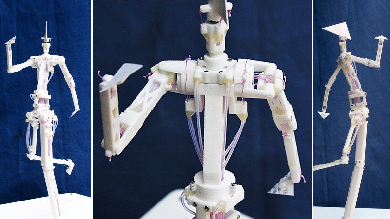 This Could Be the World's First Robotic Action Figure