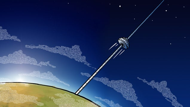 The Quest to Build an Elevator to Space