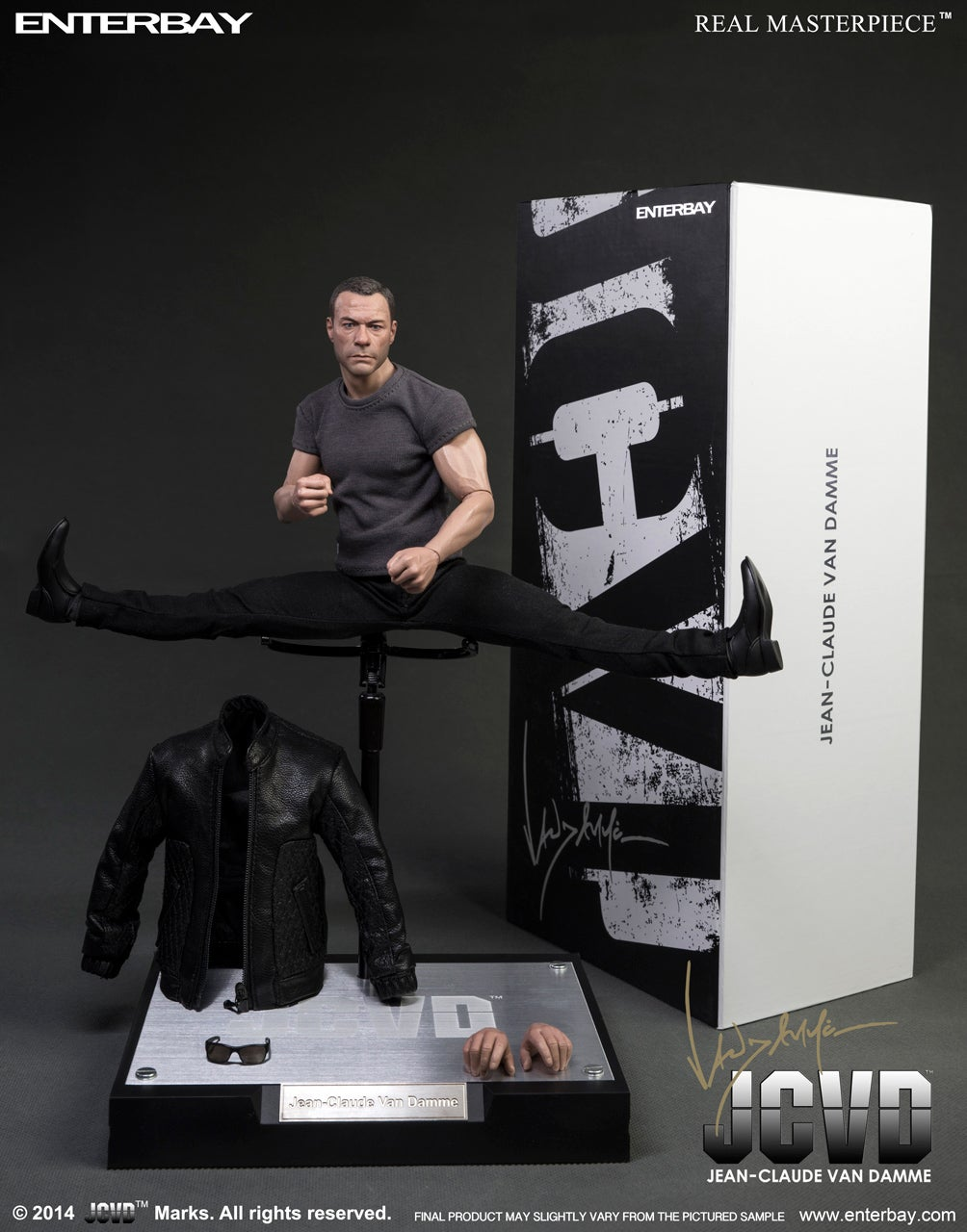 Van Damme Action Figure
