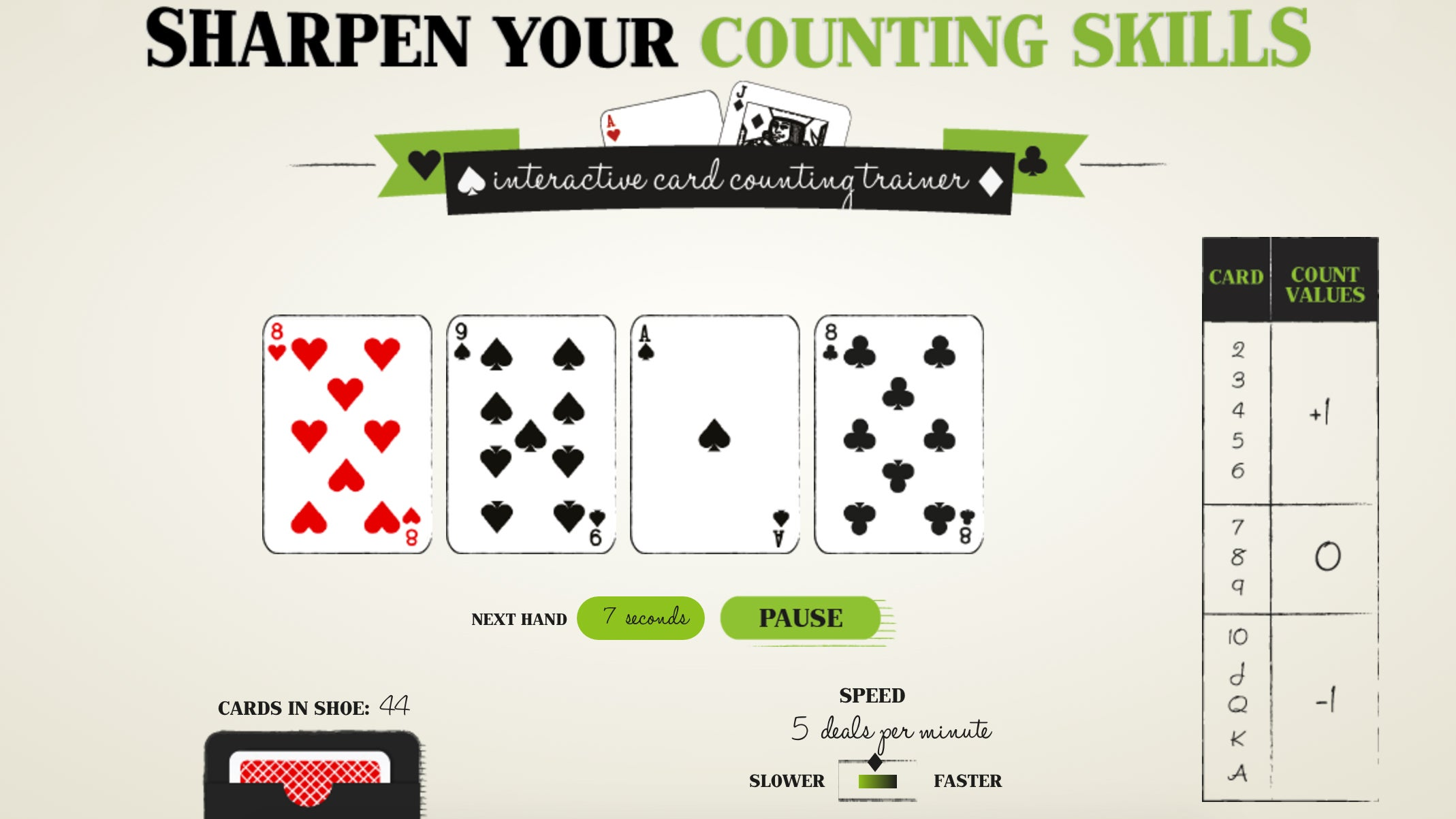 This Website Can Teach You To Count Cards Like A Maths Genius