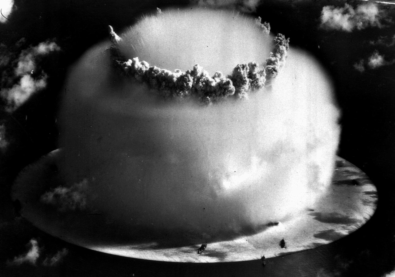 Explain Bikini atoll nuclear tests