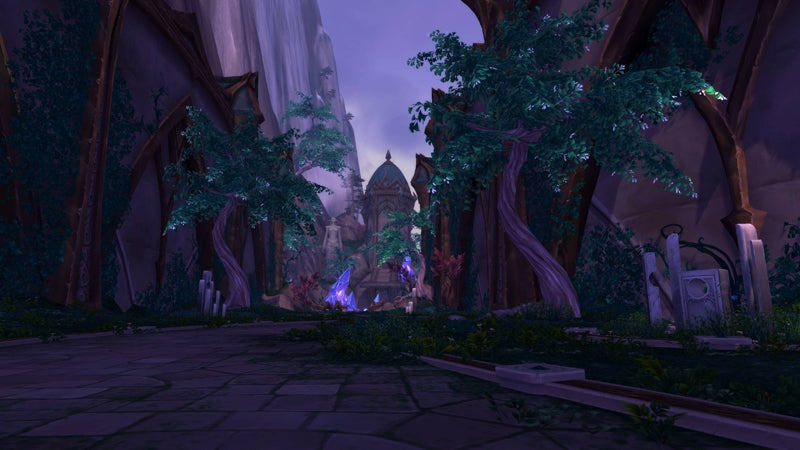 Suramar, World of Warcraft: Legion's New Zone, Looks Stunning