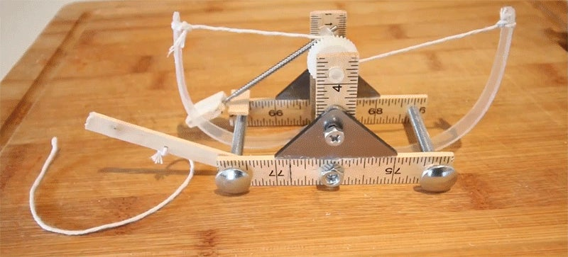 How to Build a Mini Catapult Straight From the Mind of Leonardo da Vinci