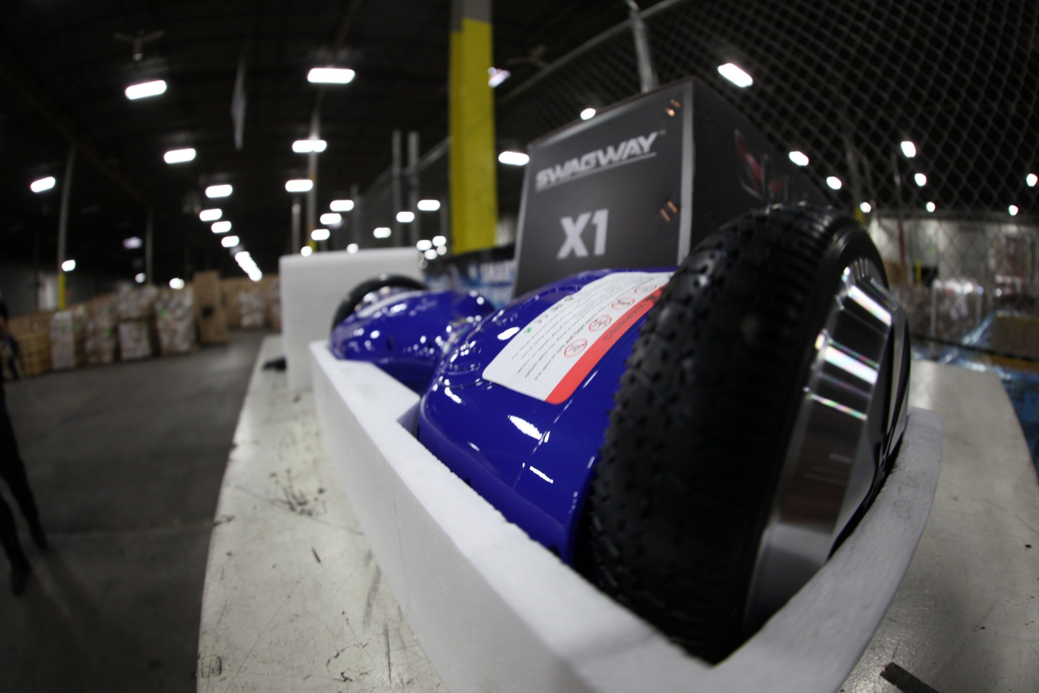 These Confiscated Counterfeit Hoverboards Do Not Have a Bright Future