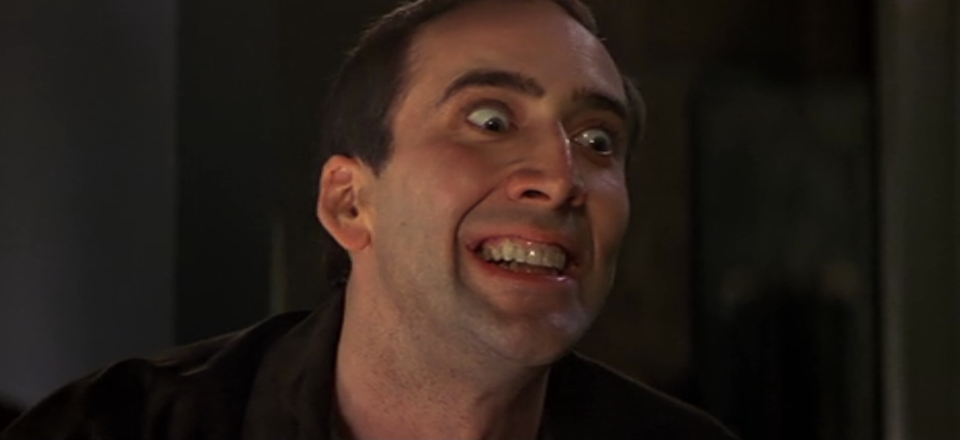 Nicolas Cage Face Off No Face Face/Off Is Lik...