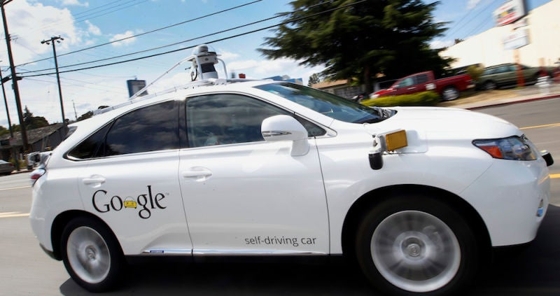 A Google Self-Driving Car Got Into a Crash With a Bus (And That's OK)