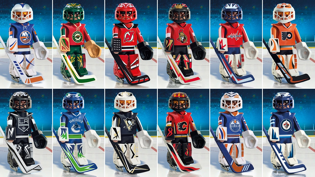 Playmobil Welcomes 12 More NHL Teams to Its Roster