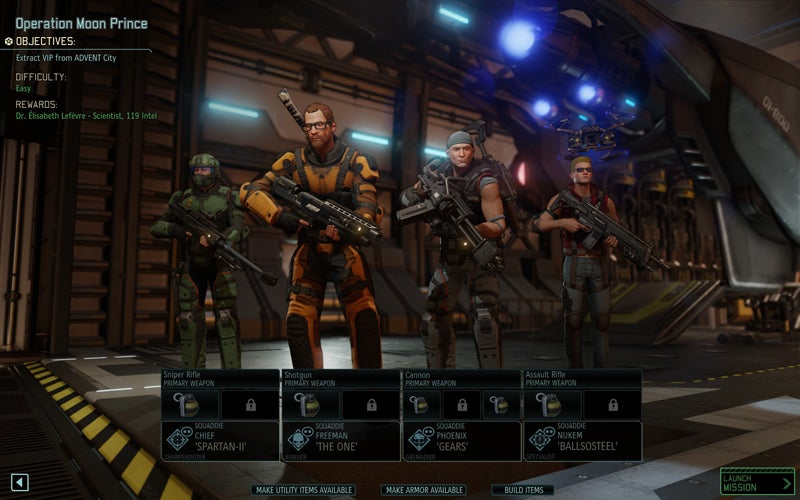 XCOM 2 Dream Team Is Ready To Roll