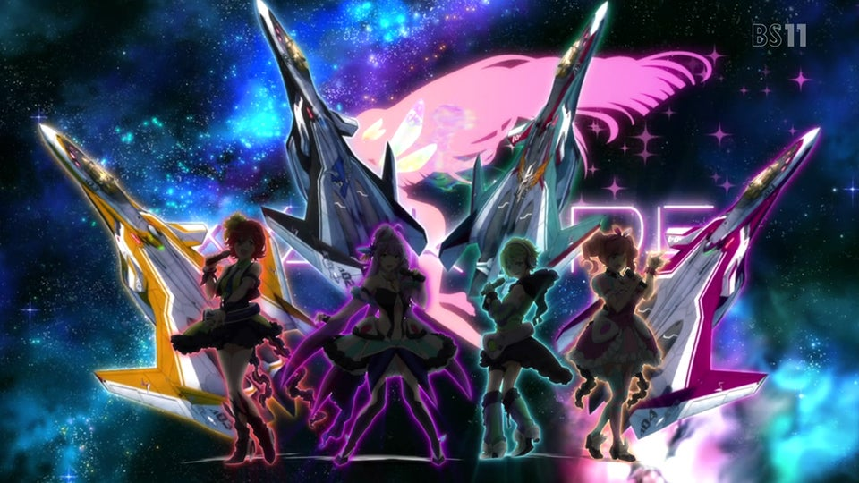 The New Macross Is Filled with Transforming Fighter Planes and... Magical Girls!?