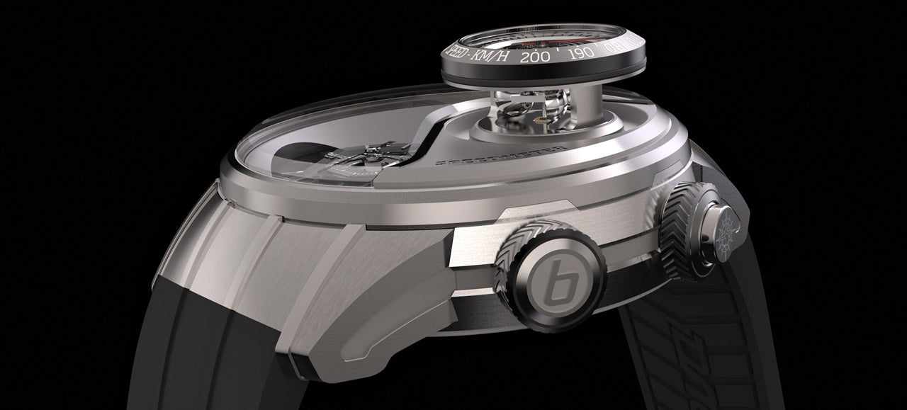 The First Watch With a Built-In Speedometer Is Absurdly Wonderful