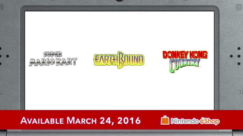 Super Mario World and Other SNES Games Coming To New 3DS