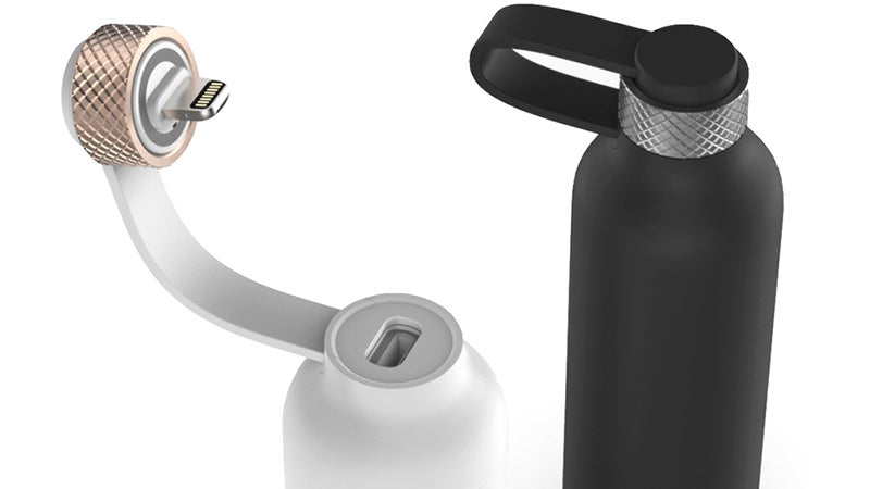 Slip This Tiny Bottle Charger In Your Pocket to Keep Your Phone Refreshed