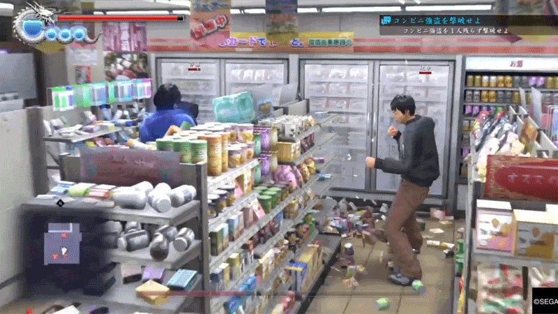 In Yakuza 6, You Can Beat Up a Japanese Convenience Store
