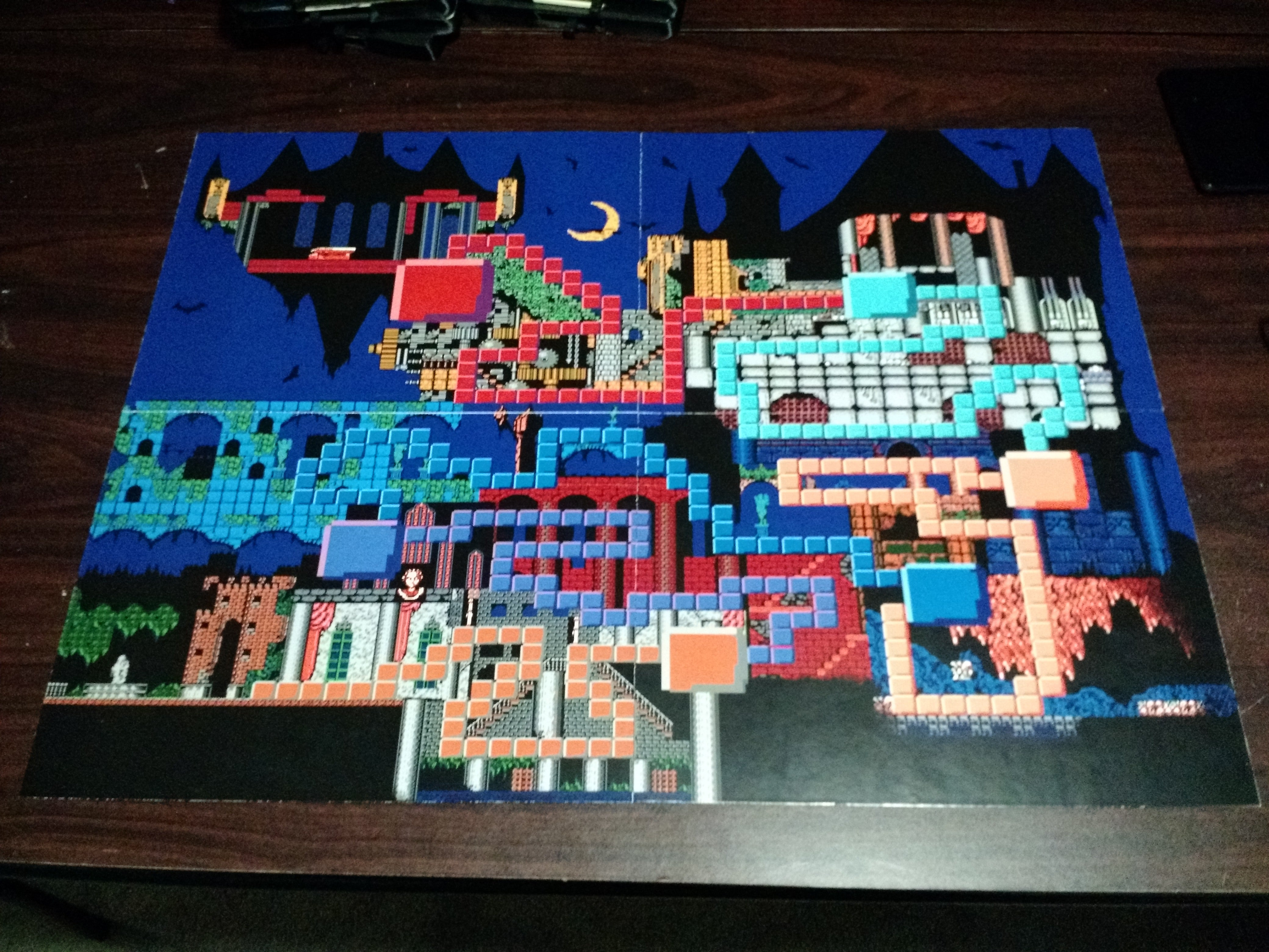 the best 3d castlevania is this custom made board game