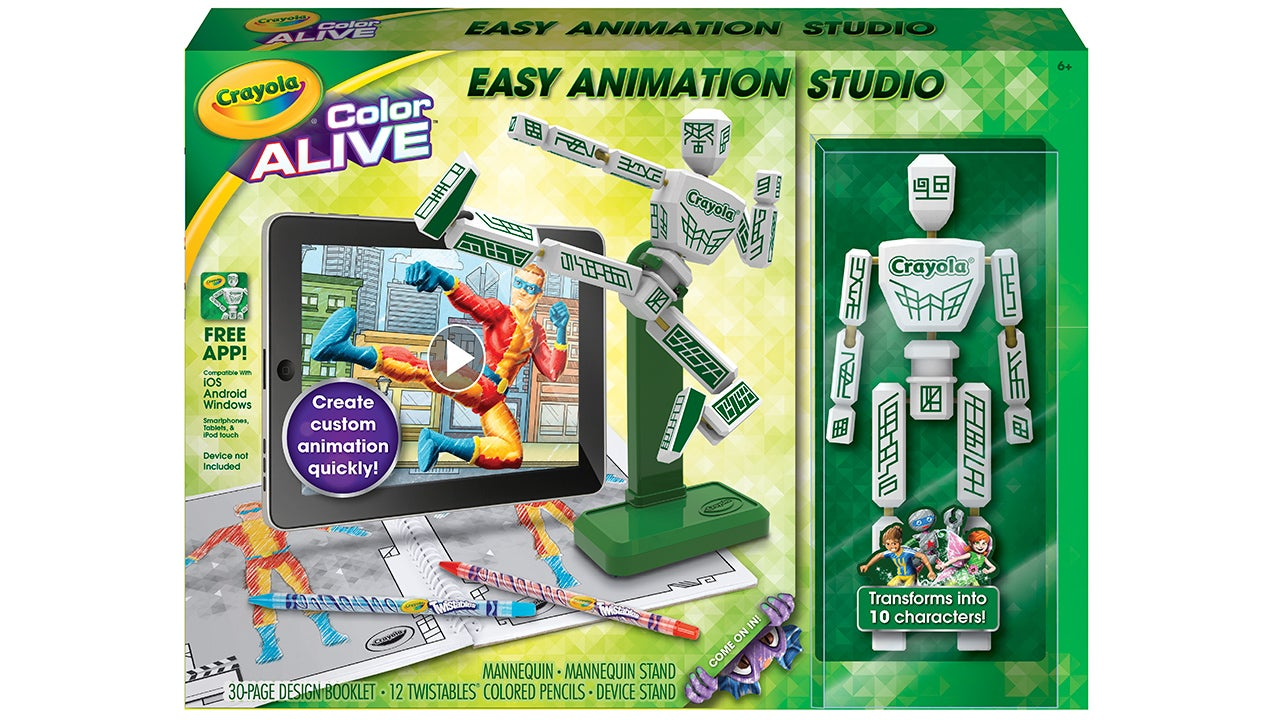 Crayola's Easy Stop-Motion Animator Will Inspire Young Ray Harryhausens