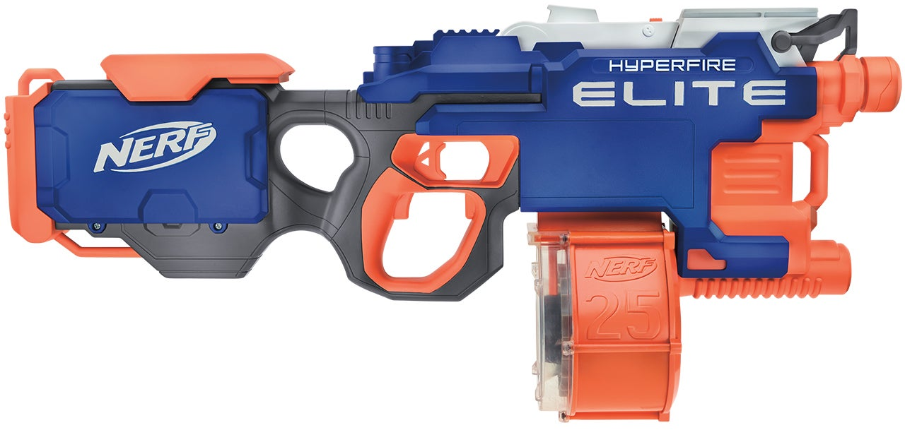 Nerf's Fall Lineup Includes a Fully Automatic Version of its 113km/h Rival Blaster