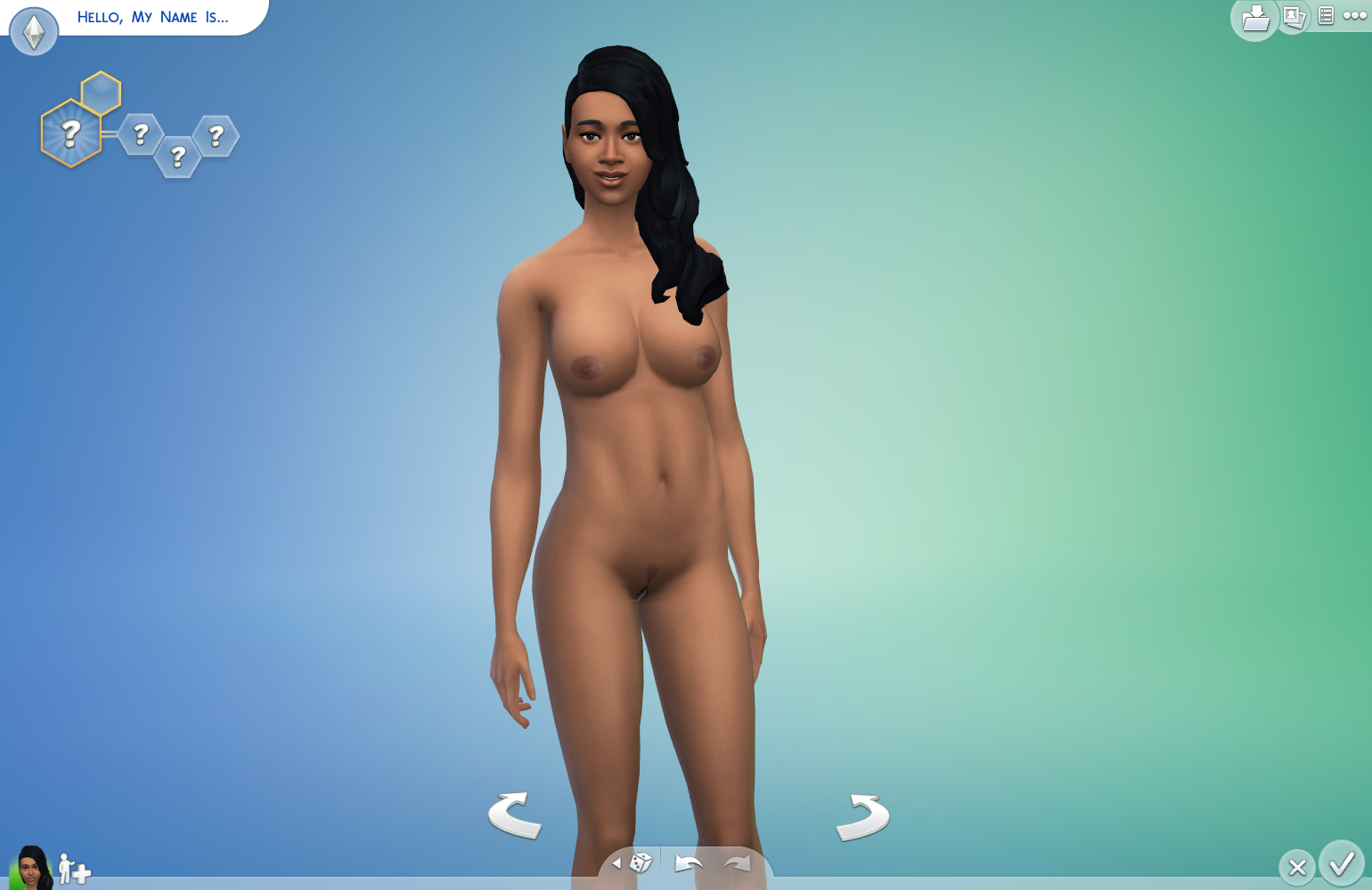 Sim naked patch free naked clips