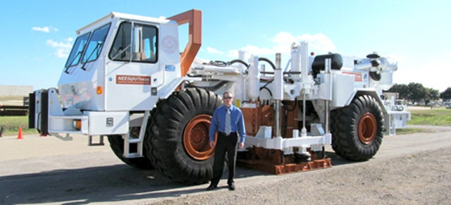 This Truck Shakes The Ground So Hard It Can Simulate Earthquakes