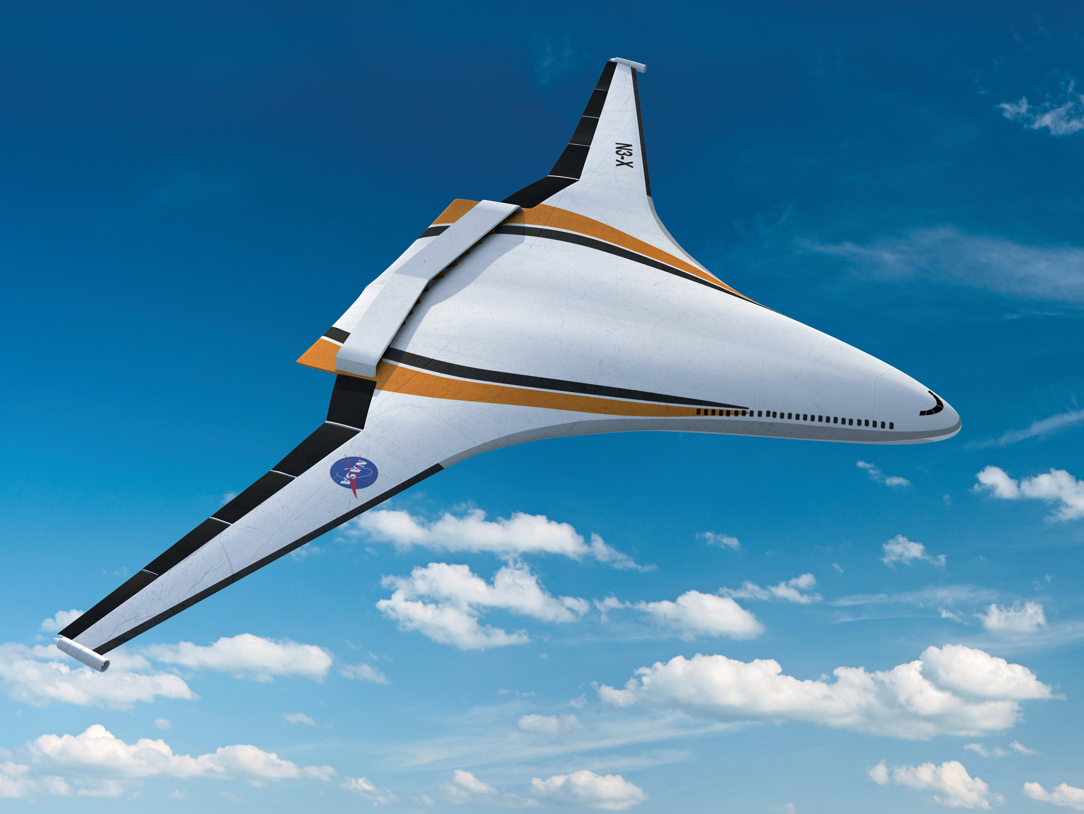 These are nasa 39 s coolest and strangest aeroplanes of the for Electric motors for aircraft