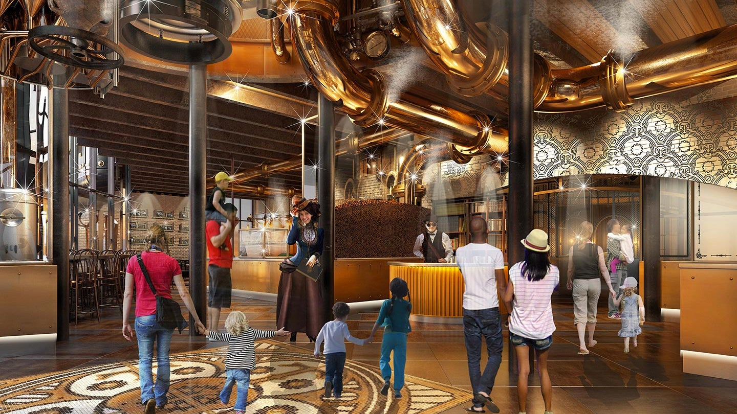 Holy Snozzberries Universal Studios Is Building Willy Wonka's Chocolate Factory