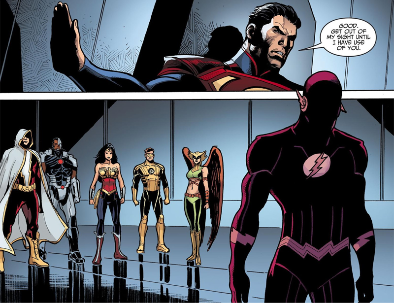 Looking Back On What Made the Injustice Comic Work, With Brian Buccellato
