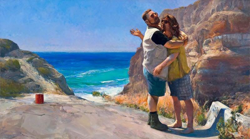 Big Lebowski Oil Paintings