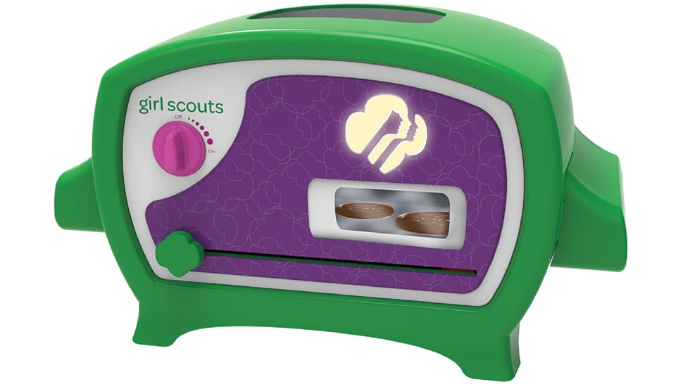 Hallelujah! This Tiny Oven Lets You Bake Your Own Girl Scouts Cookies