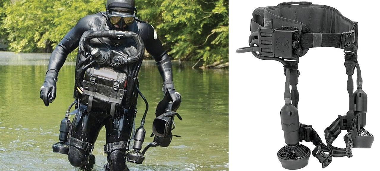 You Can't Buy These Underwater Iron Man Thrusters Without Gov't Approval