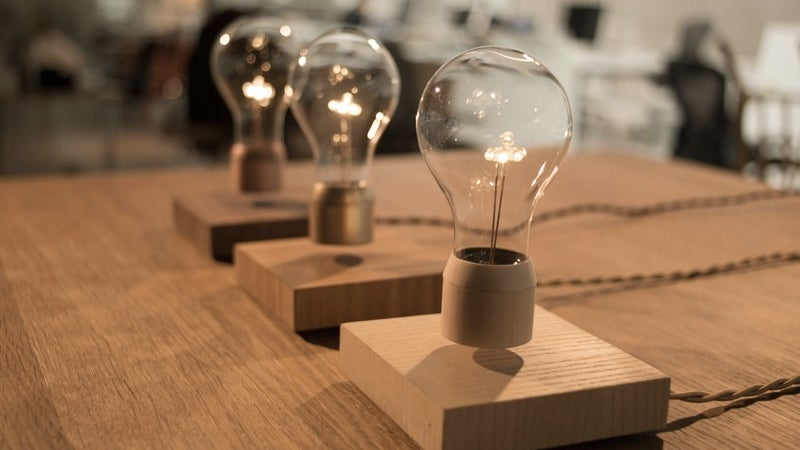 It's No Hoverboard, But This Levitating Lightbulb Is Still A Neat Trick