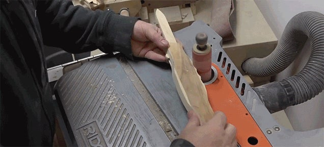 Making a Wooden Switchblade