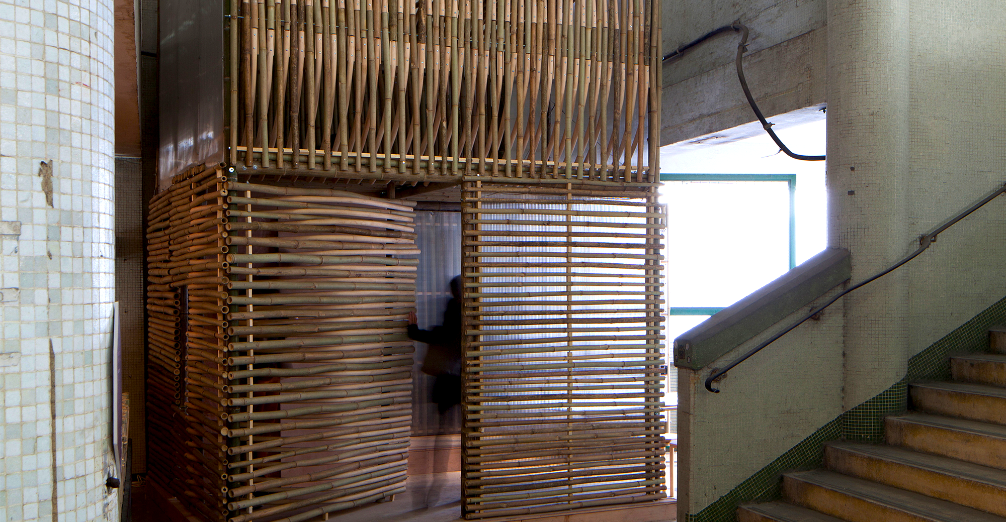 how to turn bamboo into fiber